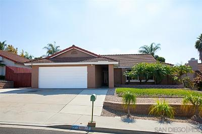 Oceanside Single Family Home For Sale: 4723 Lofty Grove Dr