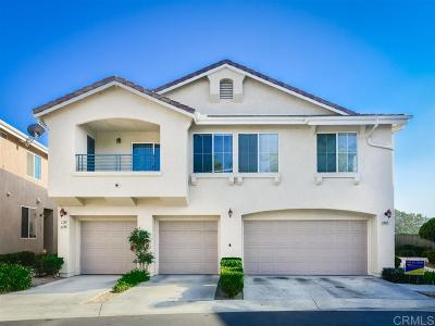 Chula Vista Townhouse For Sale: 1284 El Cortez Ct