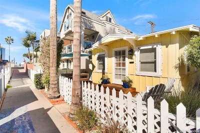 Pacific Beach, Mission Beach Single Family Home For Sale: 728 Verona Ct