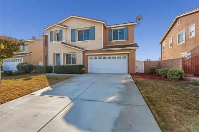 Riverside County Single Family Home For Sale: 27701 Blue Topaz Drive
