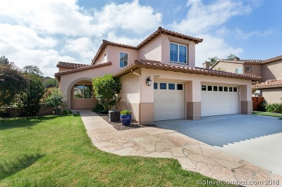 Carlsbad Single Family Home For Sale: 5245 Shelley Place
