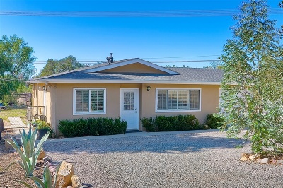 Valley Center Single Family Home For Sale: 28670 Lilac Rd