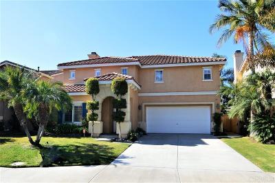 San Marcos Single Family Home Sold: 738 Via Barquero