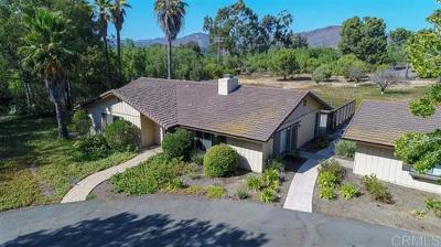 Rancho Santa Fe Single Family Home For Sale: 6923 La Valle Plateada