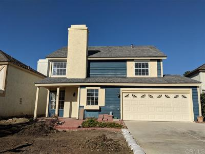Carlsbad Single Family Home For Sale: 7516 Brava St.