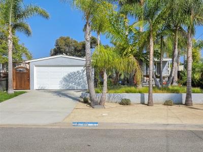 Oceanside Single Family Home For Sale: 1446 Moreno St