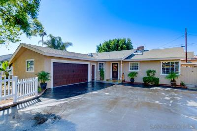 Vista Single Family Home For Sale: 441 Orange Grove Ave