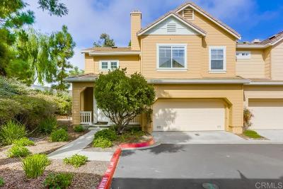 Carlsbad Townhouse For Sale: 6575 Daylily Drive