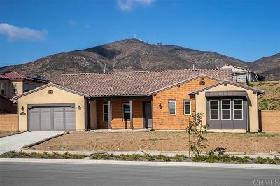 Single Family Home For Sale: 3233 Via San Vitale