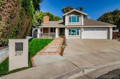 Oceanside Single Family Home For Sale: 2121 Bunker View Way