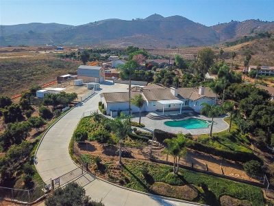 Escondido Single Family Home For Sale: 3151 Mount Whitney Rd