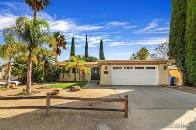 Poway Single Family Home For Sale: 12569 McFeron Rd.