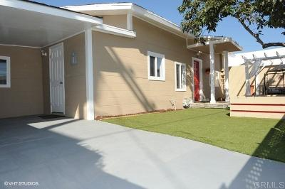 San Diego Single Family Home For Sale: 12 28th