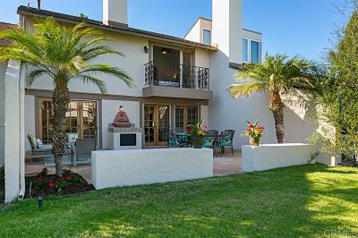 Rancho Santa Fe Townhouse For Sale: 137 Via Coronado