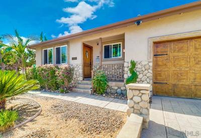 San Diego CA Single Family Home For Sale: $649,500