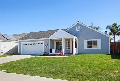 Oceanside Single Family Home For Sale: 604 Myrtlewood Ct