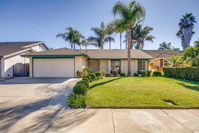Oceanside Single Family Home For Sale: 4567 Stratford Cir