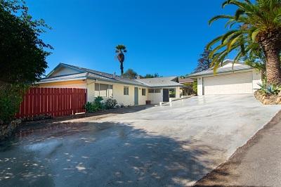 Del Cerro Single Family Home For Sale: 6360 Elmhurst Drive