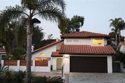 Carlsbad Single Family Home For Sale: 2648 Sutter