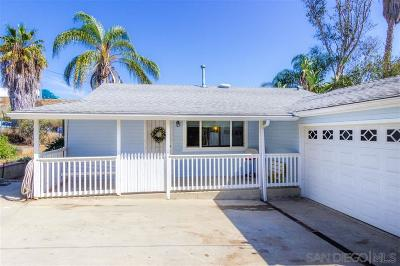 Vista Single Family Home For Sale: 1089 Crest View Rd