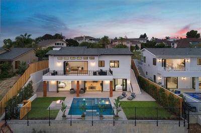 La Jolla Single Family Home For Sale: 2380 Almeria Court