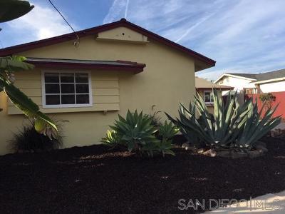 Single Family Home For Sale: 1552 Primera Street