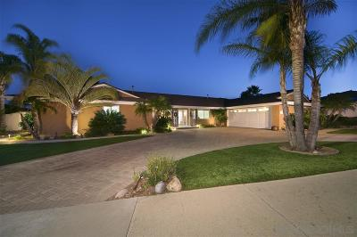 el cajon Single Family Home For Sale: 1363 Hacienda Drive