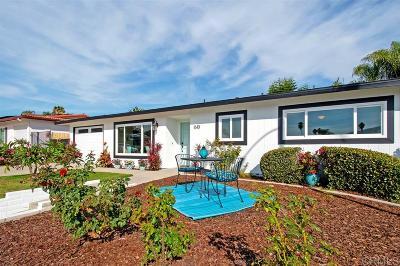 San Marcos Single Family Home Sold: 1610 La Bonita Ct
