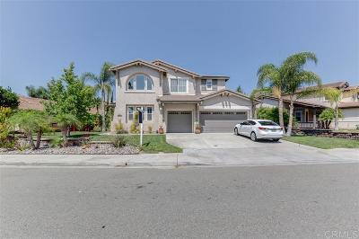Chula Vista Single Family Home For Sale: 2443 Turning Trail