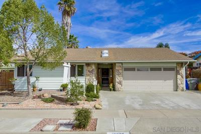 Poway Single Family Home For Sale: 12835 Neddick Ave