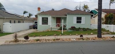 Talmadge, Talmadge/College Area Single Family Home For Sale: 4534 Natalie