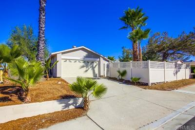 Poway Single Family Home For Sale: 14412 High Pine St