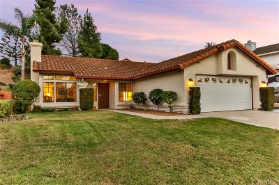 Oceanside Single Family Home For Sale: 5221 Rosewood Drive