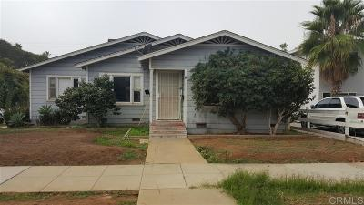 Oceanside Single Family Home For Sale: 531 Freeman Street