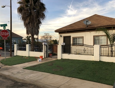 San Diego Multi Family 2-4 For Sale: 853 S 32nd Street