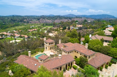 Rancho Santa Fe Single Family Home For Sale: 16864 Circa Del Norte