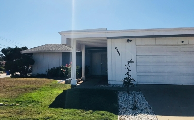 Clairemont, Clairemont East, Clairemont Mesa, Clairemont Mesa East Single Family Home For Sale: 6985 Boxford Drive