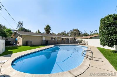 La Mesa Single Family Home Contingent: 9512 Milden St