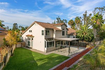 Oceanside Single Family Home For Sale: 4919 Patina Court