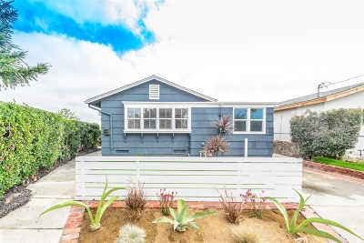 San Diego Single Family Home For Sale: 2627 Haller Street