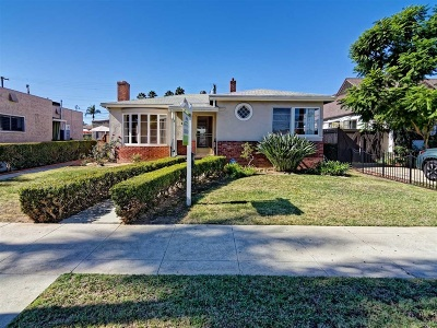 Kensington, Kensington Manor, Kensington Park, Kensington/Normal Heights Single Family Home For Sale: 4630 Biona Drive