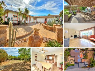Escondido Single Family Home For Sale: 1798 Summit Drive