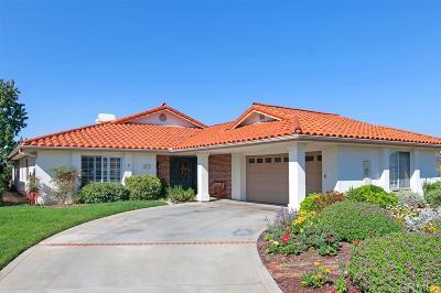 Fallbrook Single Family Home For Sale: 1073 Ridge Heights