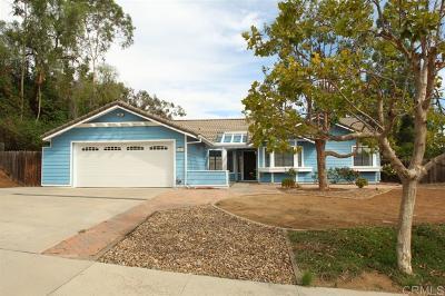 Escondido Single Family Home For Sale: 1501 Katella Way