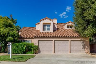 Escondido Single Family Home Pending: 1368 Gilmore Pl