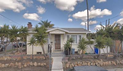 San Diego Single Family Home Sold: 3602 Polk