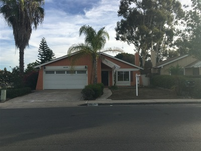 San Diego Single Family Home For Sale: 10239 Zapata Avenue