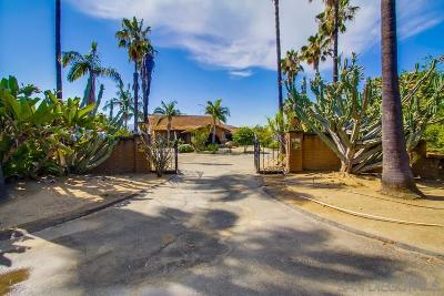 Escondido Single Family Home Sold: 4135 Vista Bonita Ln