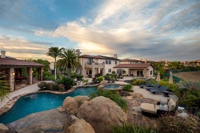 Single Family Home For Sale: 15545 Via La Ventana