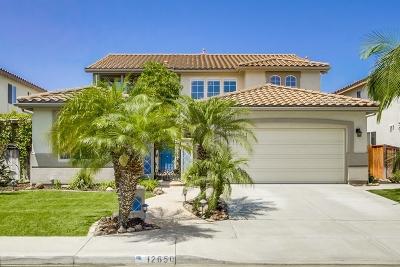 Single Family Home For Sale: 12650 Senda Panacea